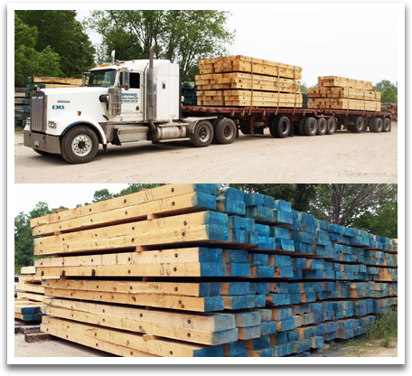 Hardwood Crane Mats Atwood Forest Products