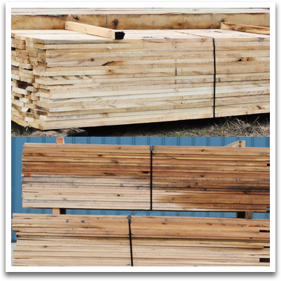 Fence Lumber, Trailer Decking and More